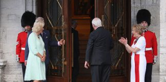 The Queen's son Prince Charles and Camilla in Canada (Image GETTY )