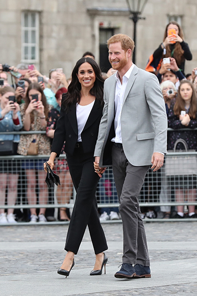 The couple will visit Sussex next week Photo (C) GETTY