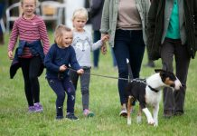 The little girl helped to walk Princess Anne's dog PhotoThe little girl helped to walk Princess Anne's dog Photo (C) GETTY(C) GETTY