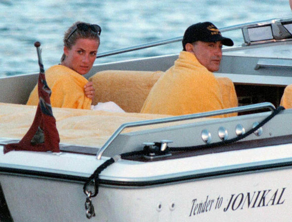 Princess Diana and Dodi Al Fayed's romance blossomed in the weeks before they died (Image ABACA PA)
