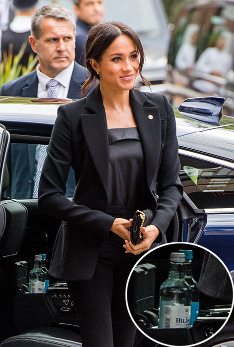 What Meghan Markle and Kate Middleton keep in their cars Photo (C) GETTY