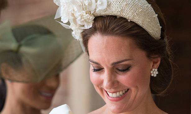 You can now buy the headband Kate Middleton wore to Prince Louis' christening Photo (C) GETTY