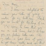 The Queen's hidden talents The letter written by the 19-year old (Image icollector)