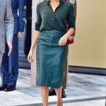 0 Meghan Markle just stepped out wearing a £69 shirt from Other Stories Photo (C) GETTY
