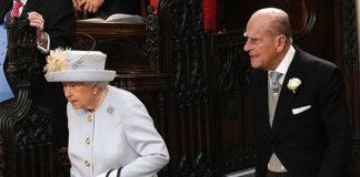 0 Princess Eugenie wedding live The Queen and Prince Philip step into the chapel Image GETTY