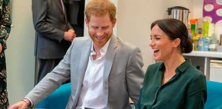 1 Find out what drawing made Meghan Markle roar with laughter on Sussex visit Photo (C) GETTY