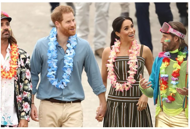 1 Meghan Markle opened up about pregnancy—It feels like jet lag Photo C CHRIS GETTY
