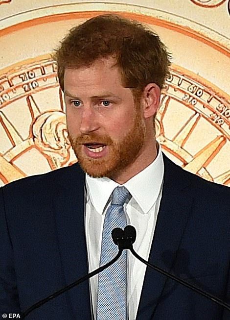 1 Prince Harry warned We cannot stand by and let our wildlife disappear from the earth