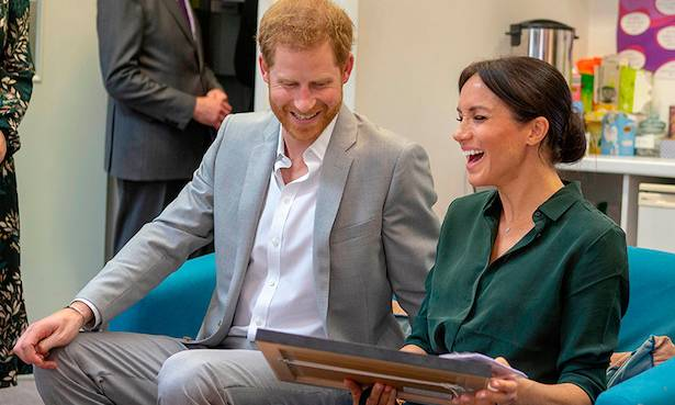 2 Find out what drawing made Meghan Markle roar with laughter on Sussex visit Photo (C) GETTY