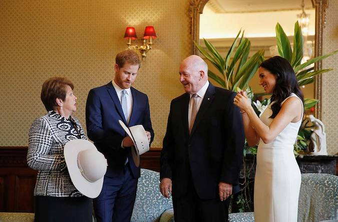 6 Live Updates Prince Harry and Pregnant Meghan Markles Receive First Baby Gifts on Royal Tour Photo C PA