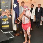A didgeridoo player performed at the Reception hosted by the Prime Minister of Australia Image Samir Hussein WireImage