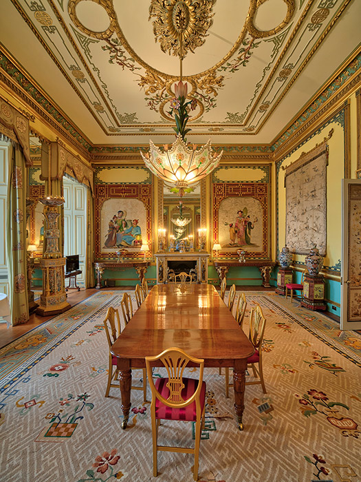 A photo of The Centre Room in the palace Photo C GETTY