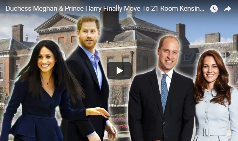 All About Prince Harry and Meghan Markle's New 21 Room Home at Kensington Palace