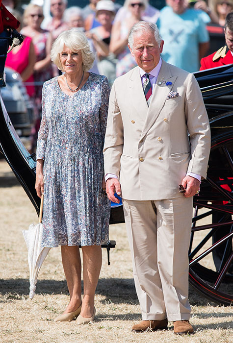 As editor Charles has commissioned wife Camilla to write for the magazine Photo C GETTY