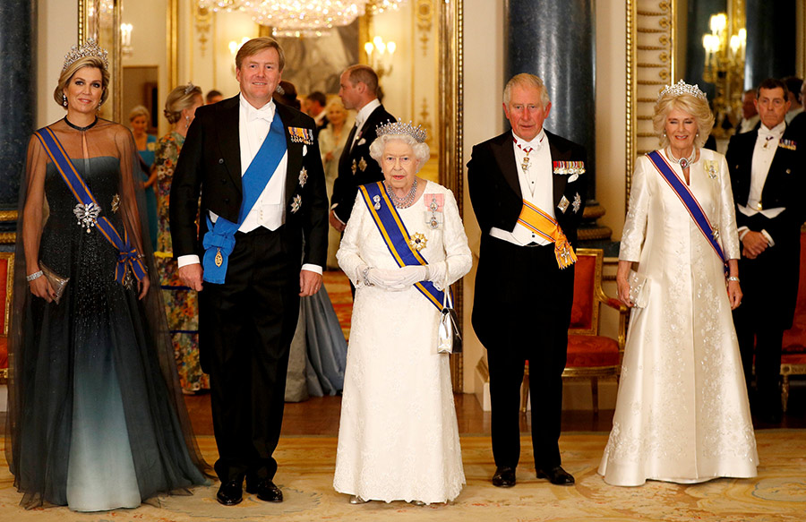 King Willem Alexander said the Queen was the most fearless Bond girl ever Photo C PA