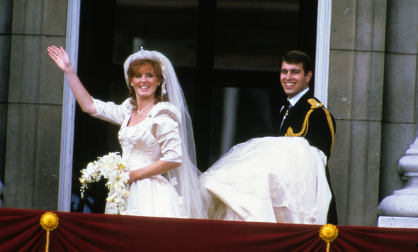 Both Eugenie and Sarahs wedding dresses were designed by British designers Image Getty Images