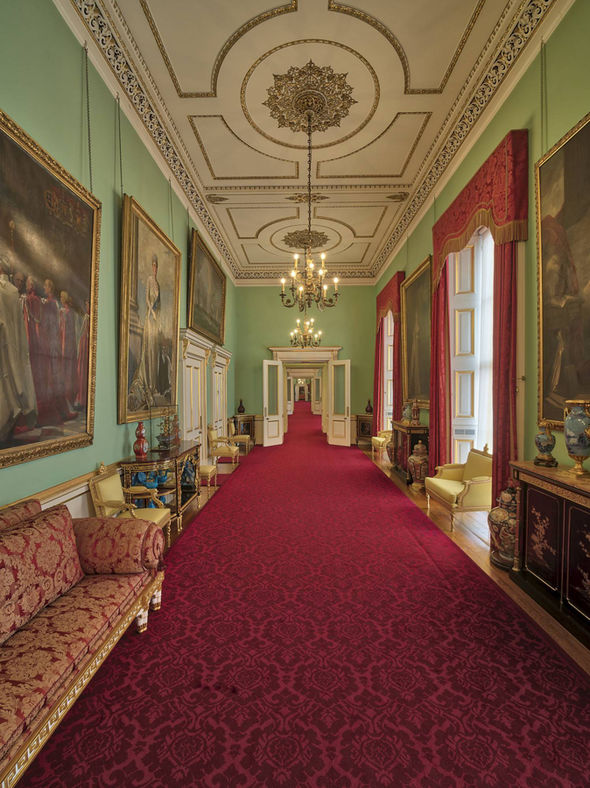 Buckingham Palace is undergoing a 10 year refurbishment Image PA 1