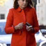 Carole Middleton in wears the same coat Kate Middleton has Splash