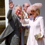 Charles and Camilla Duchess of Cornwall at the wedding of Prince Harry and Meghan in May Charles had not only bankrolled the wedding