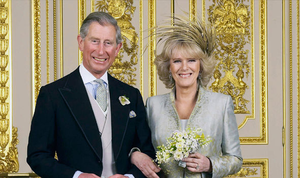 Charles and Camilla wed in a civil ceremony at Windsor Castle in February 2005 Image GETTY