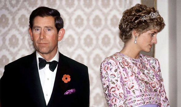 Charles and Diana had a high profile divorce in 1996 Image GETTY