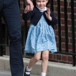 Charlotte mastered the Windsor Wave – her left arm is angled at 90 degrees, moving her hand gently (Image GETTY)