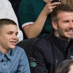 David Beckham and his son Romeo attended the final game of Invictus Image WIREIMAGE