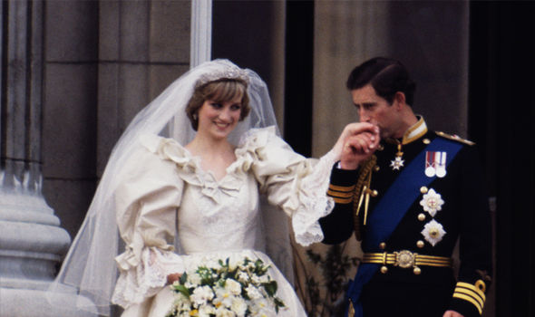 Diana found a bracelet the day before her wedding Image GETTY