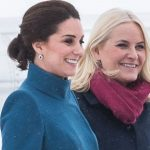 Duchess Catherine and Princess Mette Marit of Norway Photo Getty Images