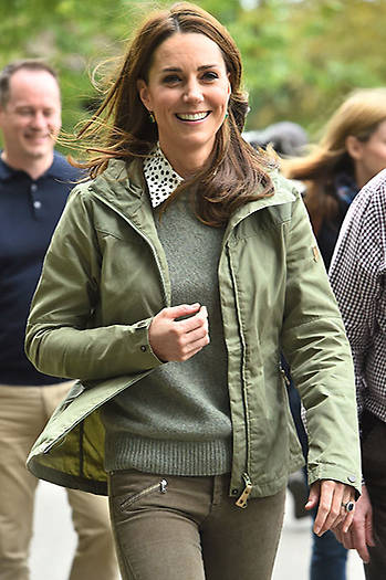 The Duchess of Cambridge has made her much-anticipated return to official duties, following her six-month maternity leave with Prince Louis Photo (C) GETTY