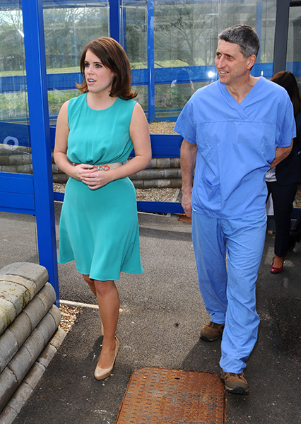 Princess Eugenies doctor who performed life changing surgery receives royal wedding invite Photo C GETTY