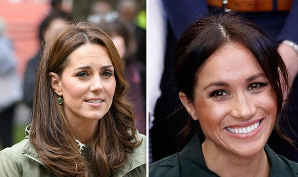 Fans of Kate Middleton and Meghan Markle have different opinions Image GETTY