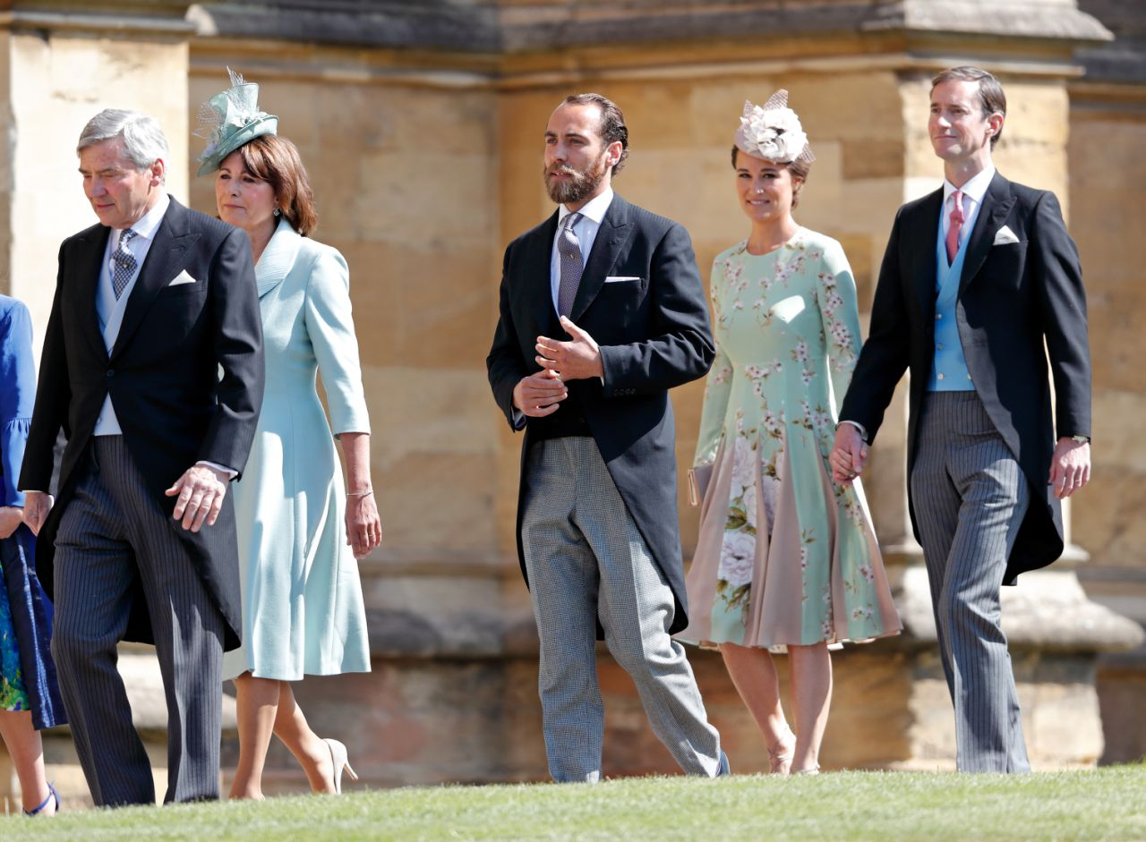 """Harry and Meghan's wedding dress code was """"morning coat or lounge suit, day dress with hat."""" Photo Getty"""