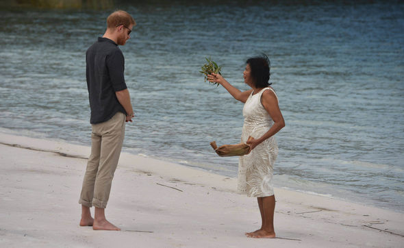 Meghan Markle and Prince Harry are heading to the picturesque Fraser Island this afternoon Image REUTERS EPA