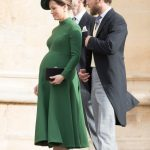 James Matthews and Pippa Middleton attended the wedding of Princess Eugenie days before she gave birth Getty