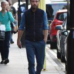 James Middleton arrived at the Lindo Wing to visit sister Pippa Middleton Splash