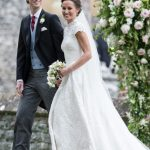James and Pippa married in 2017 Getty