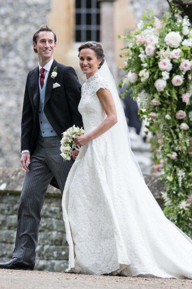 he married couple on their honeymoon last summer Getty