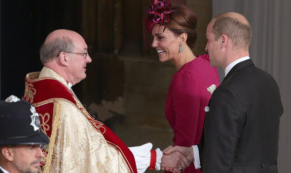 Kate Middleton The Duchess of Cambridge wore deep pink Image AFP Getty