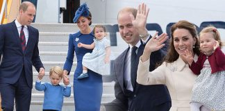 Kate Middleton The trick she has taught Prince George and Princess Charlotte when travelling (Image Getty)