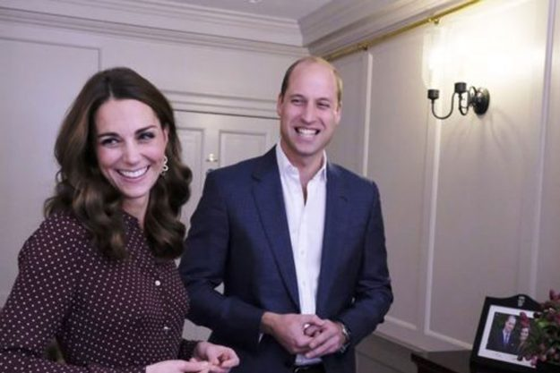 Kate Middleton met a group of inspirational teenagers at Kensington Palace BBC