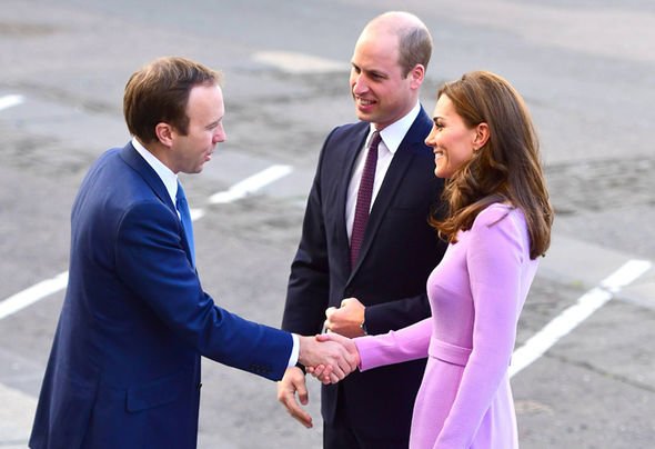 Kate and Prince William arrived in London Image PA GETTY