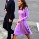 Kate arrived with her husband Prince William for their first joint visit since her maternity leave Image PA