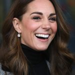 Kate looked lovely during their visit and looked stunning with an au natural makeup look Photo C GETTY