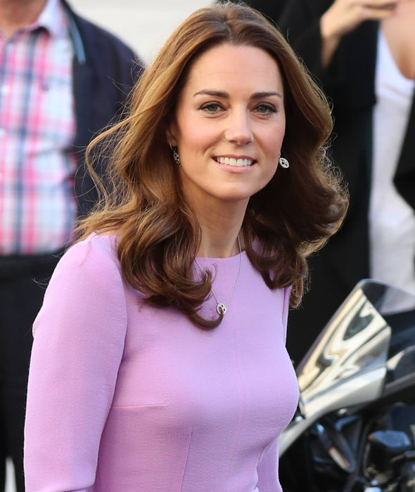 Kate looked radiant as she returned to her royal duties Image GC Images