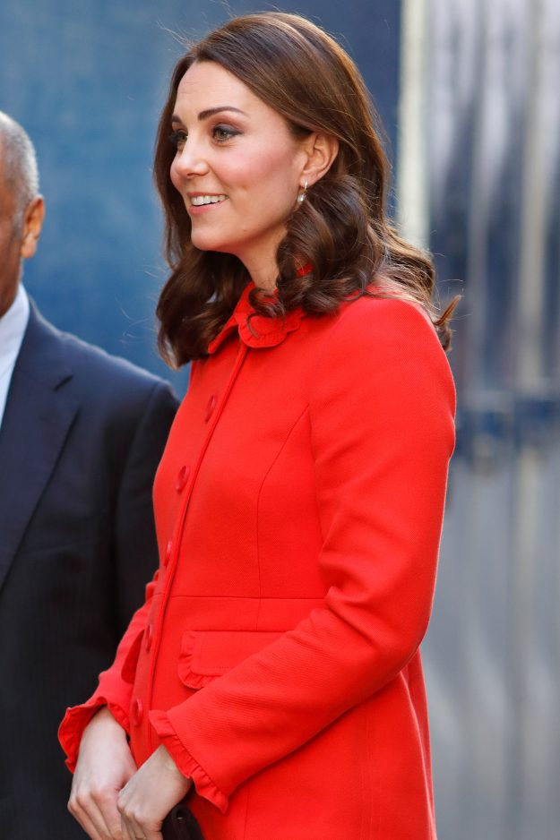 Kate Middleton gave birth to Prince Louis earlier this year Getty