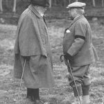 King Edward VII with Lord Burnham at Hall Barn Image BDHS