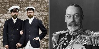King George V encouraged the British Government to withdraw an offer of asylum to Tsar Nicholas II Image GETTY