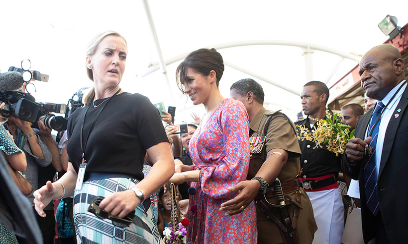 Meet Meghan Markles female bodyguard Photo C GETTY