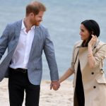 Meghan Markle Australia tour Meghan and Harry were holding hands while on the beach Image WireImage